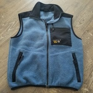Mountain Hard Wear blue fleece vest - XS